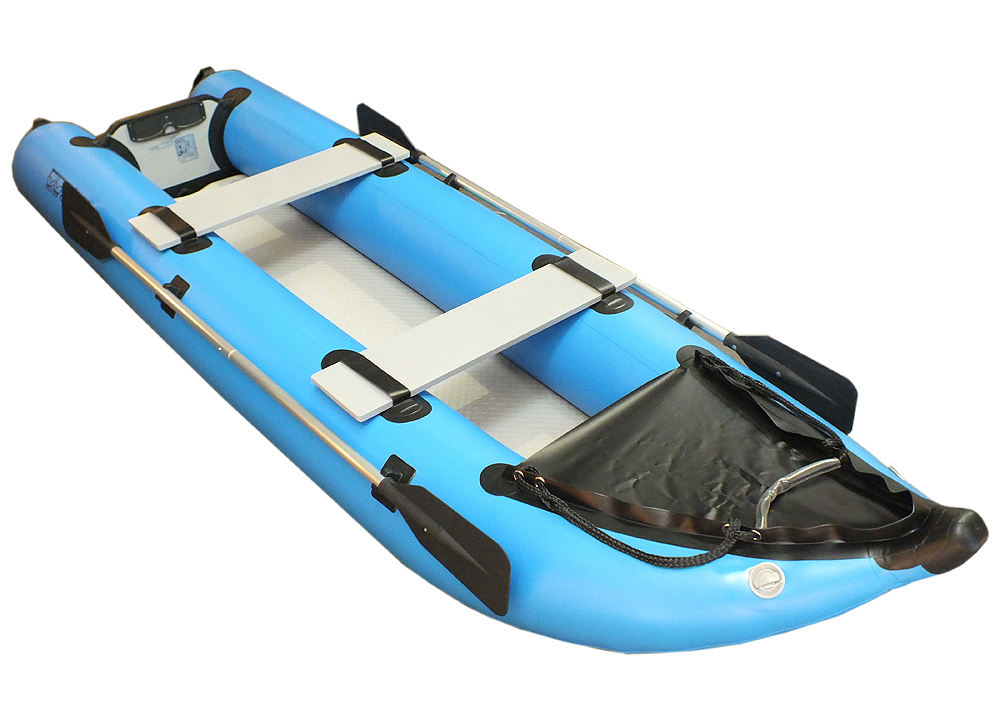 Kayak gonflable solide